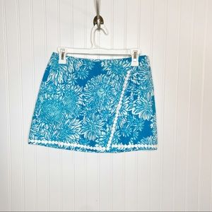 Lilly Pulitzer Lion in the Sun Dree Skort Size 0